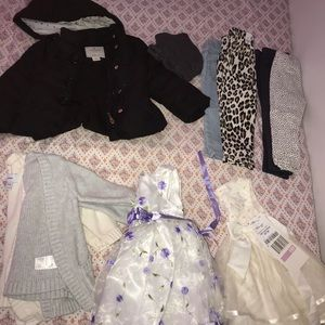 Girl infant toddler seasonal clothes & shoes etc.